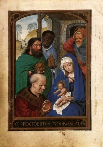 Adoration of the Magi Book of Hours