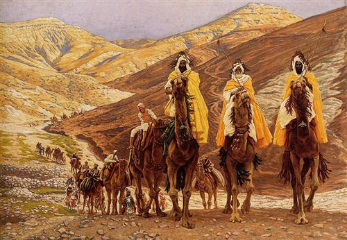 Journey of the Magi, 1894, Tissot