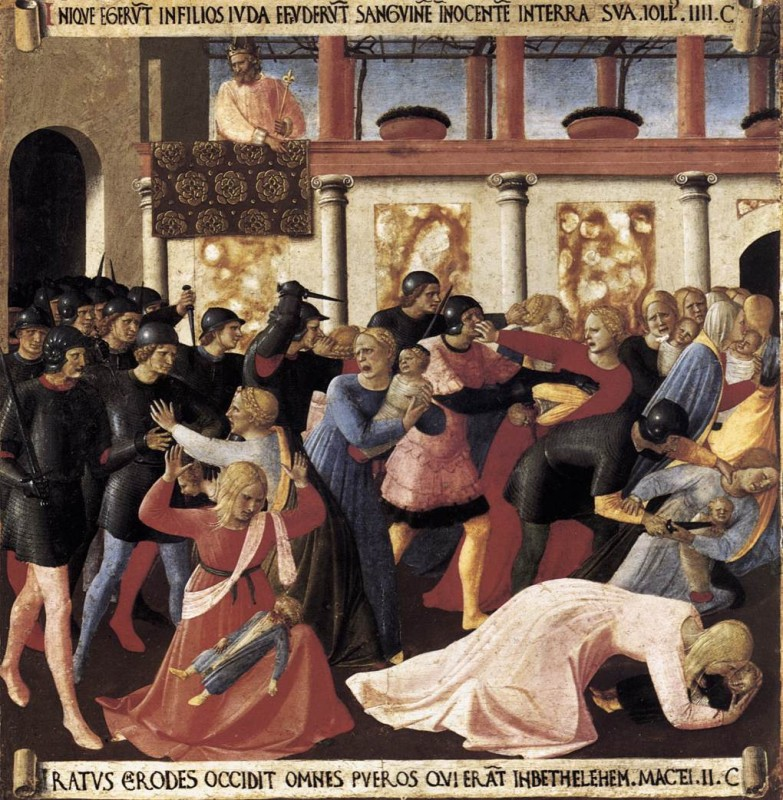 Massacre of the Holy Innocents Fra Angelico