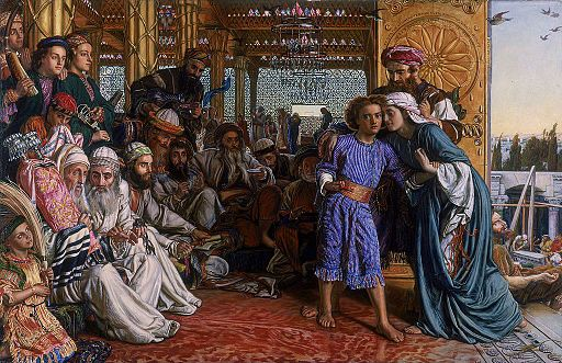 The Finding of Jesus in the Temple William Holman Hunt
