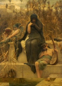 By the Waters of Babylon - Arthur Hacker